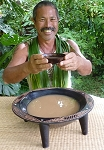 Hand Carved Kava Bowl